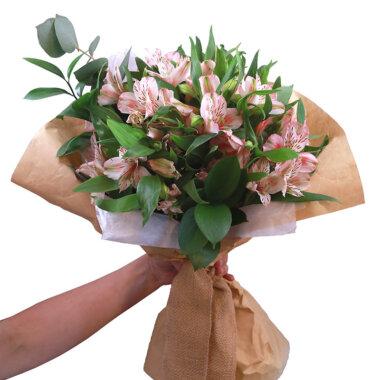 Buchet de flori - florarie online - livrare flori - alstromeria