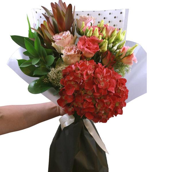 Buchet flori - florarie online - livrare flori - buchet mix - elegant
