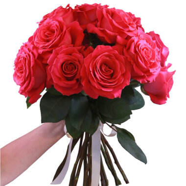 Trandafiri roz - buchet flori naturale - florarie online - livrare flori ieftine