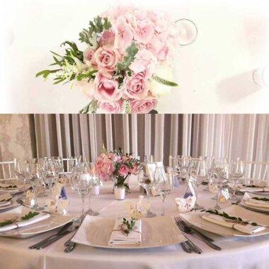 Flori naturale - online - livrare - aranjament masa - nunta - botez