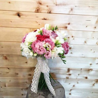 Livrare flori - buchet mireasa - florarie online