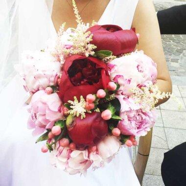 Buchet flori - florarie online - livrare flori - buchet mireasa Bucuresti