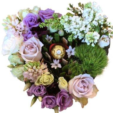 Florarie online - livrare - cutie flori naturale