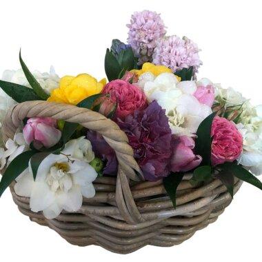 Buchet flori - traditional - livrare flori - cos flori