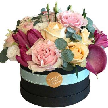 Cutie flori - florarie online - flori naturale