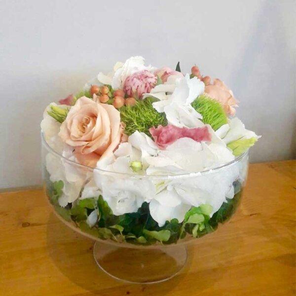 Cutie flori naturale - aranjament floral - cadou unic