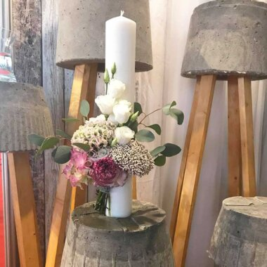 Florarie online Bucuresti - lumanare nunta - livrare flori - hortensie