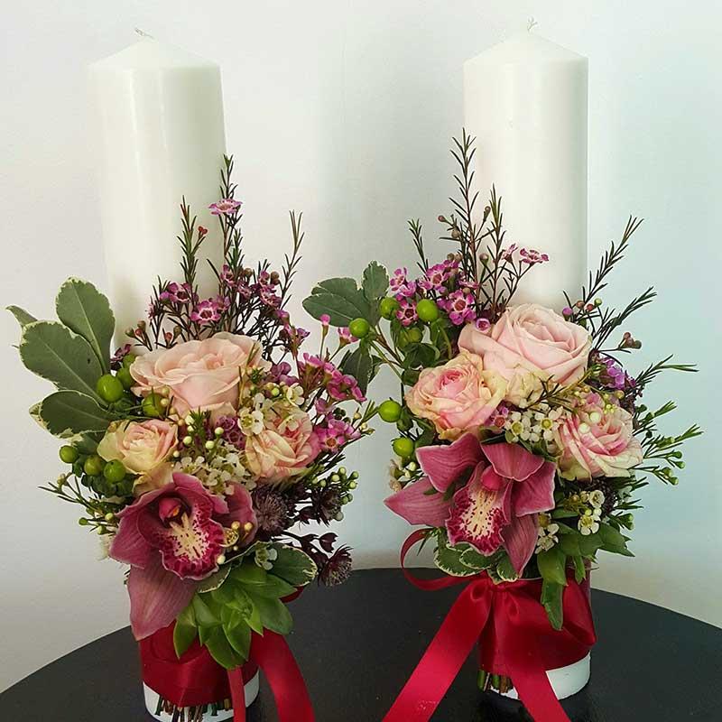 Lumanare Cununie Emotions Of Joy Floraria Stefan Lulus Garden