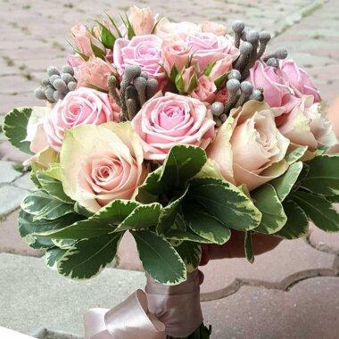 Buchet mireasa - buchet nasa - florarie online - livrare - trandafiri