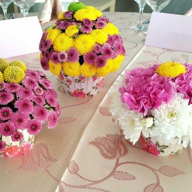 Aranjament masa - florarie online - evenimente - nunta perfecta