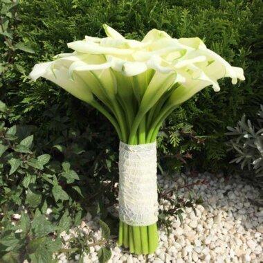 Buchet de flori - buchet mireasa - florarie online - calle albe