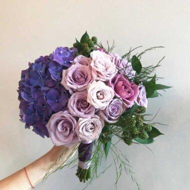 Buchet de flori - buchet mireasa - florarie online - livrare flori Bucuresti