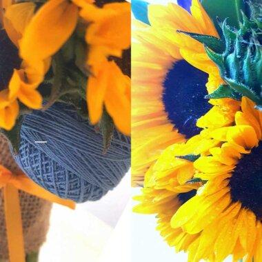 Lumanare botez, floarea soarelui, livrare flori, florarie