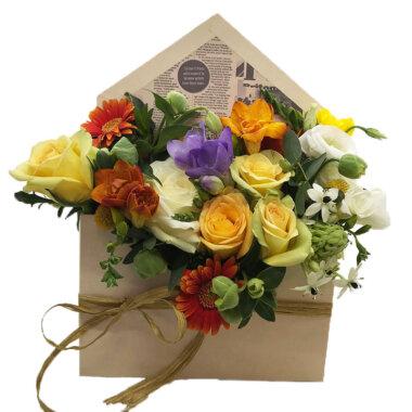 Florarie online - cutie flori - aranjament floral - cadoul perfect - livrare