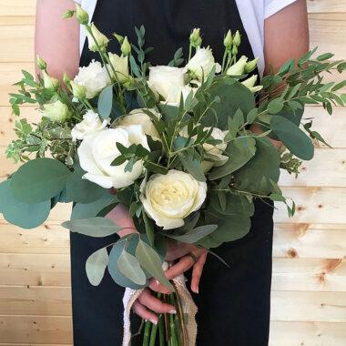 Buchet flori - florarie online - buchet mix - cadou elegant - trandafiri