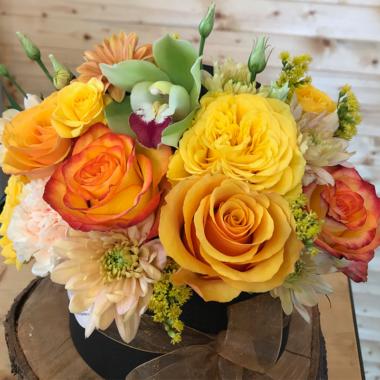 Cutie Flori - Aranjament Craciun