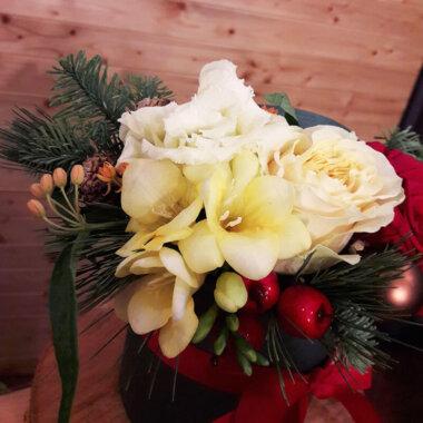 Aranjament Craciun - Flori naturale