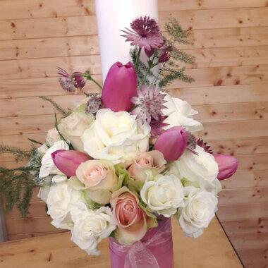 Lumanare botez - Florarie online