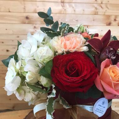 Cutie Flori - Hortensie Trandafiri