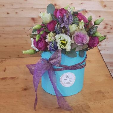Aranjament flori primavara - zambila