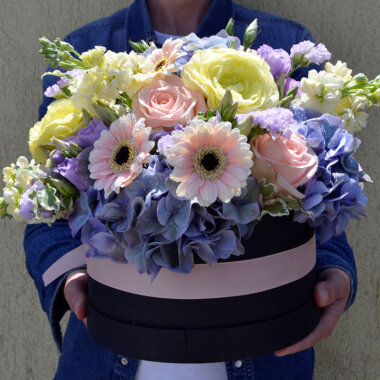 Cutie flori livrare Bucuresti