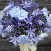 Buchet cununie albastru - bleu - livrare Bucuresti
