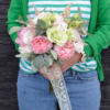 Buchet cununie Trandafiri gradina Princess Charlene