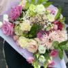 Buchet superb - trandafiri - nerinne - ranunculus