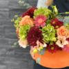 Cutie flori portocalie - flori naturale