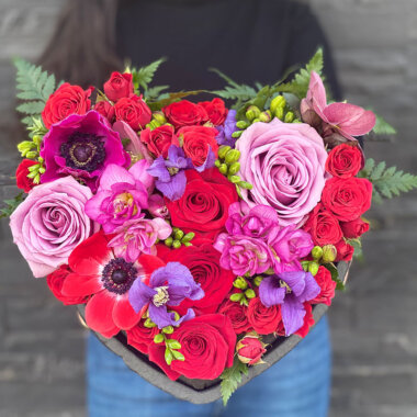 Aranjament floral suport inima - My Heart