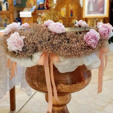 Aranjament cristelnita Bucuresti