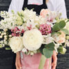 Cutie flori - Pink velvet