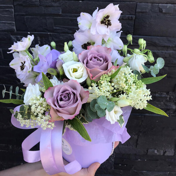 Cutie Flori - Touching purple